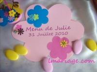 menu pop fleur
