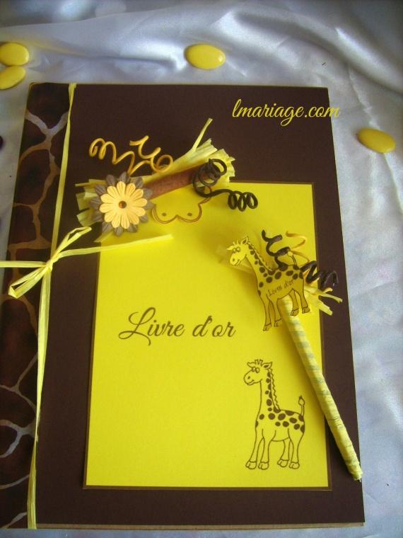 livre d'or et son stylos