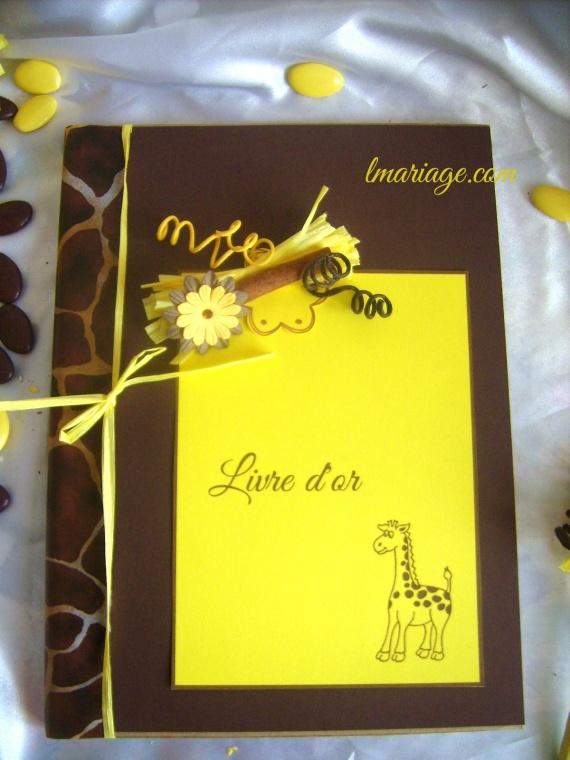 livre d'or girafe
