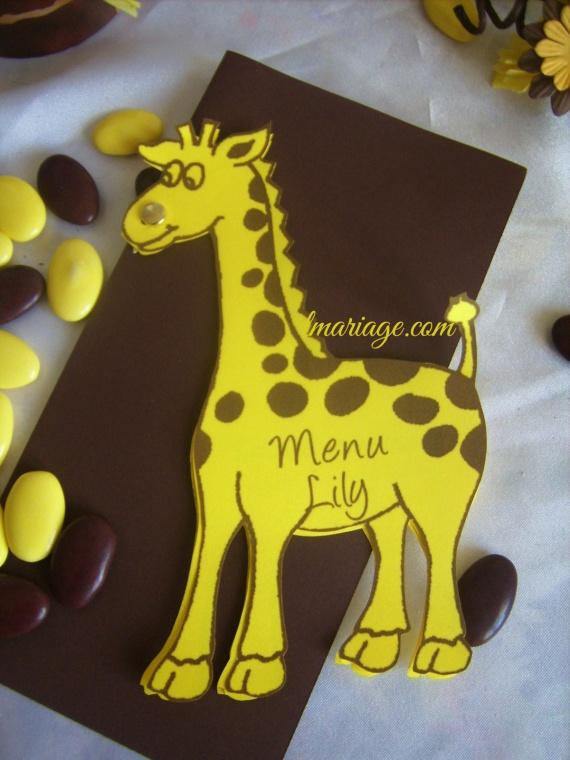 menu forme girage