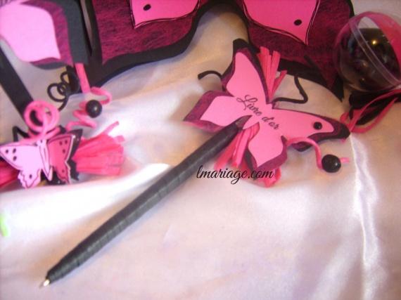 stylos papillon