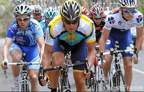 Lance Armstrong tour californie