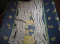 leggins taille unique blanc