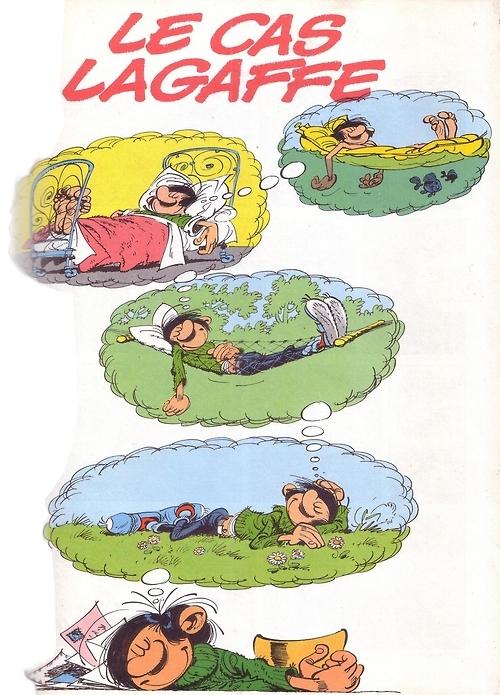 le rêve dans le rêve Gaston