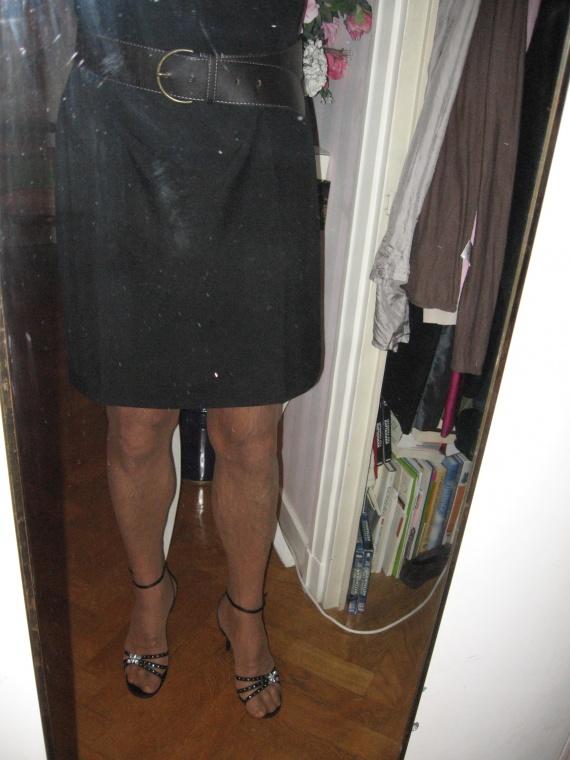 Sandales et robe