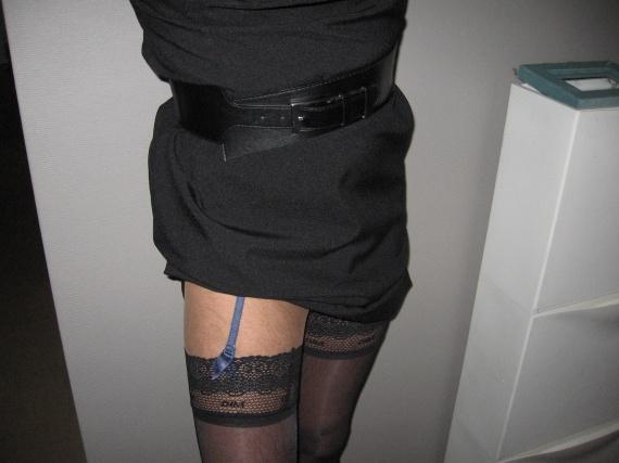 La robe remonte