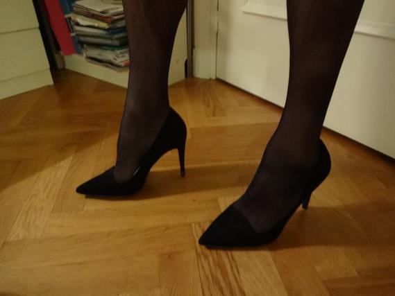 escarpins noirs Corinne