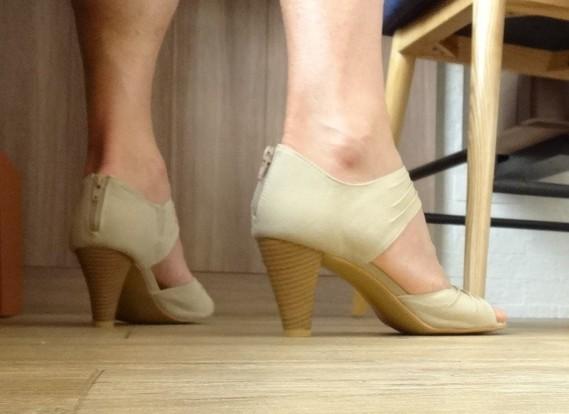 Corinne sandales dos