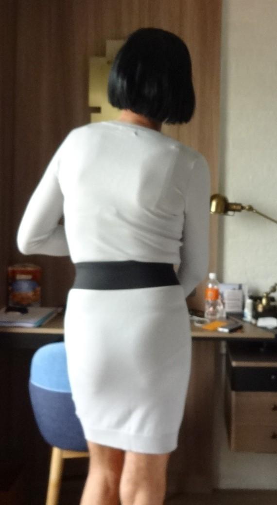 Corinne robe et ceinture dos