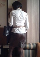 Corinne jupe cuir dos 2
