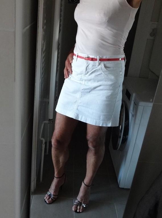 Corinne jupe blanche