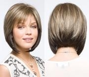 coiffure carre plongeant de dos