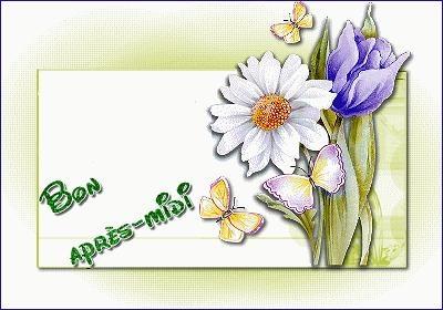 bon a midi fleur