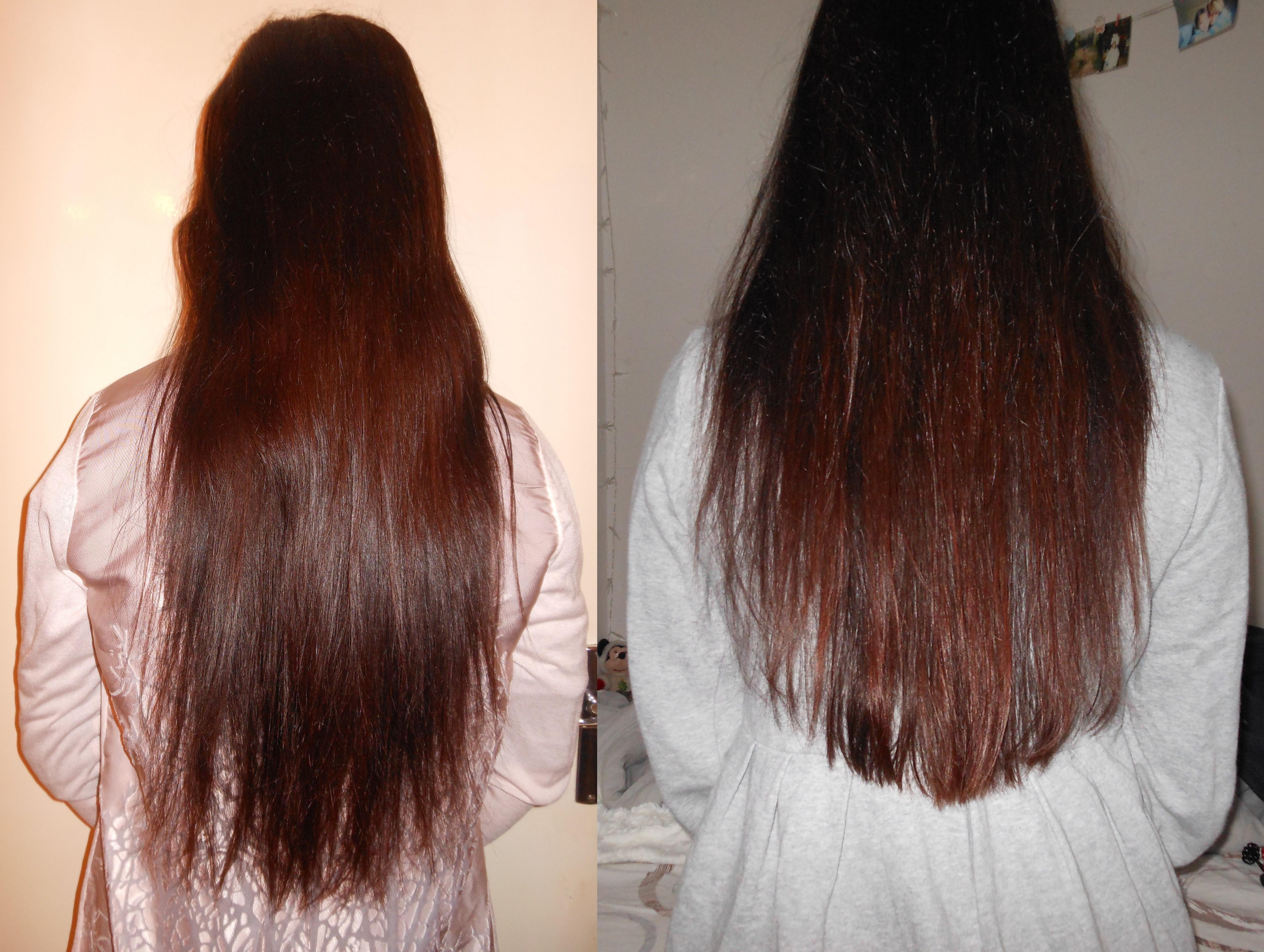 Dégradé En V Cheveux Long - Fashion Designs
