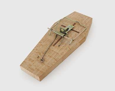 Piège à souris cercueil