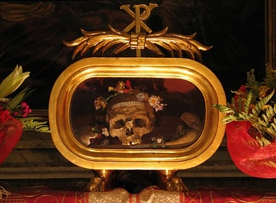 reliques saint valentin