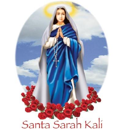 SANTA SARAH KALI (1) - 24.05.10 BLOG