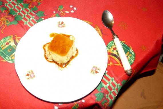 Crèmes Caramel au micro vap