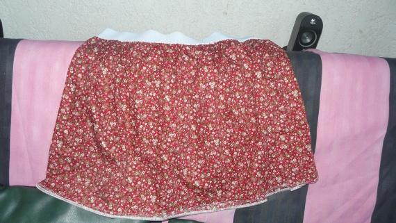 jupe avec gros elastiques