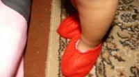 des chausson en feutrine