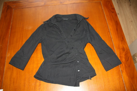 Chemise noir MNG Taille S: 6 euros