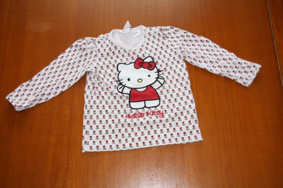 Tee shirt Hello Kitty 12/18 mois 3 euros