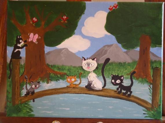 mes chatons cheris