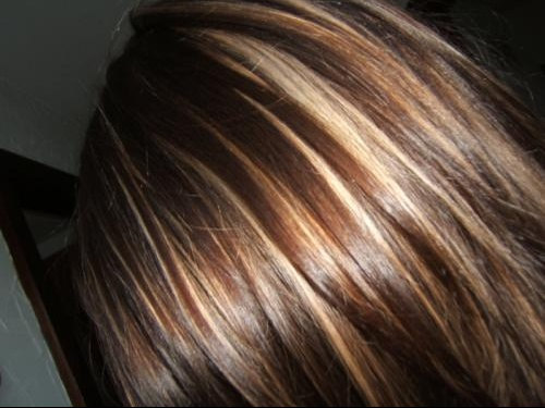 cheveux brun meche blond coiffures populaires. Black Bedroom Furniture Sets. Home Design Ideas