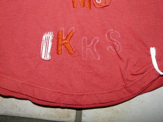 détail robe IKKS