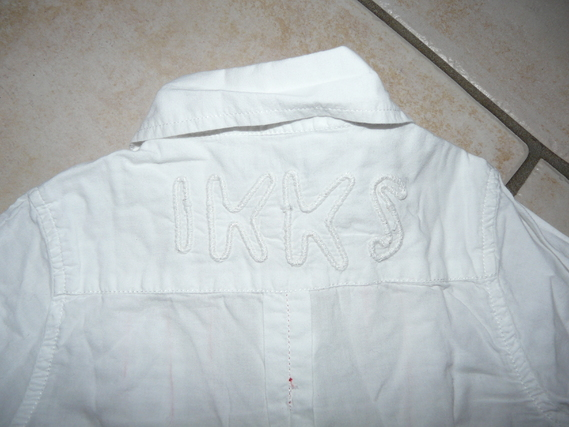 dos chemise IKKS