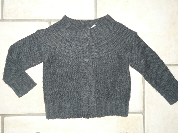 gilet gris (flash) obaibi 4€