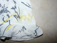 détails tunique DKNY