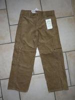 NEUF pantalon velours vert baudet 7€