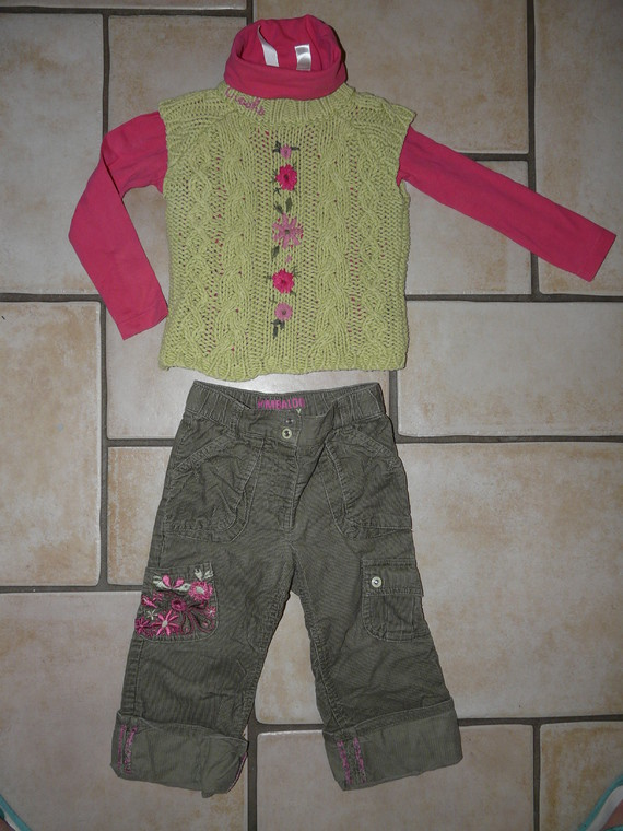 pantalon Creeks 4,50€