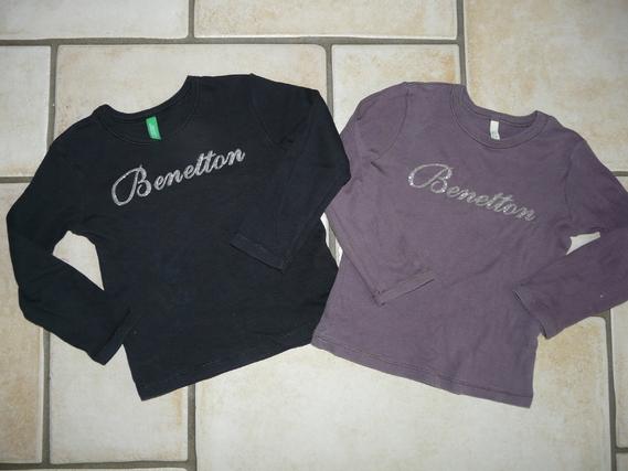 Tshirt Benetton 7€ chacun