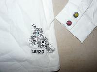 détails chemisier Kenzo
