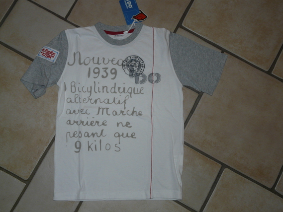NEUF Tshirt Dodipetto 8€