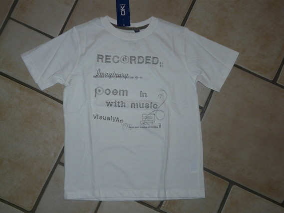 NEUF Tshirt Okaidi 5€