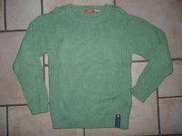 NEUF pull vert Redoute 6€