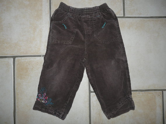 pantalon velours Catimini 8€