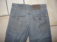 dos pantalon large okaidi
