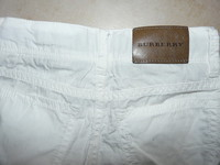 dos pantalon Burberry
