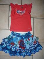 Tshirt rouge Catimini 12€