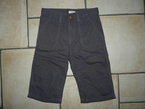 NEUF bermuda anthracite Redoute 6,50€ 10 ans