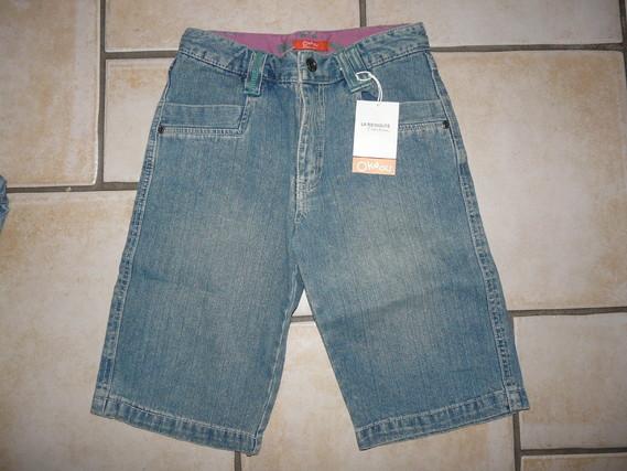 NEUF bermuda jean's Redoute 6,50€