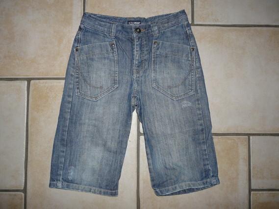 bermuda en jean's Redoute 5€
