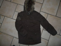 NEUF manteau chaud Redoute (doublure polaire amovible) 17,50€