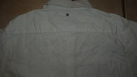 dos chemise Tommy Hilfiger
