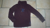 sous pull sergent major 7 ans 4€
