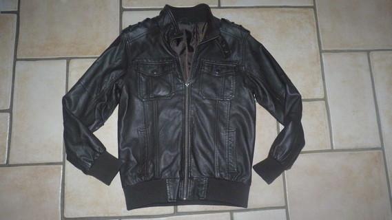 veste cuir Kiabi 11€